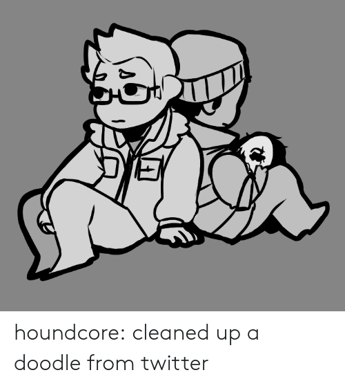 Tumblr, Twitter, and Blog: houndcore:  cleaned up a doodle from twitter