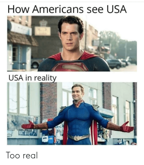 Too Real: How Americans see USA  USA in reality Too real