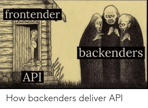 deliver: How backenders deliver API
