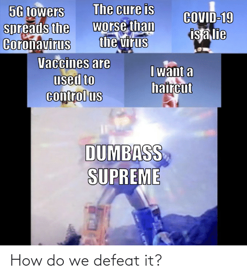 How Do: How do we defeat it?
