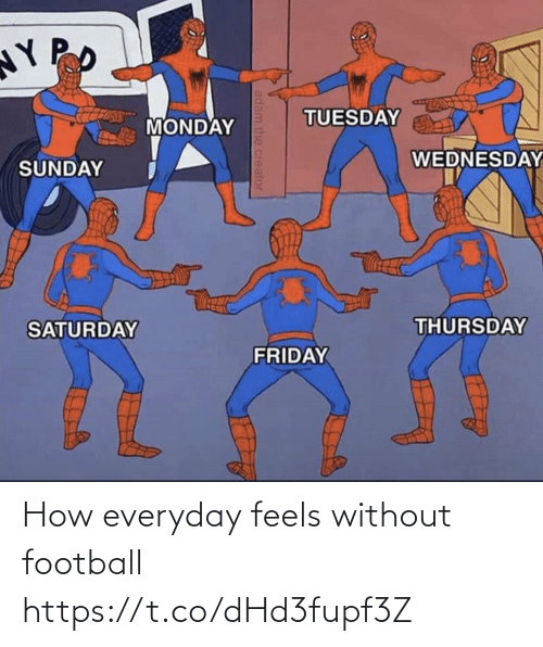 Without: How everyday feels without football https://t.co/dHd3fupf3Z