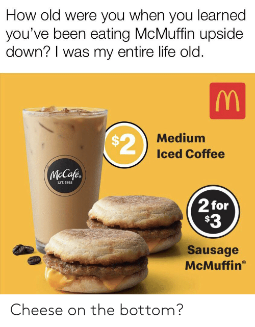 🅱️ 25+ Best Memes About Sausage McMuffin | Sausage McMuffin Memes
