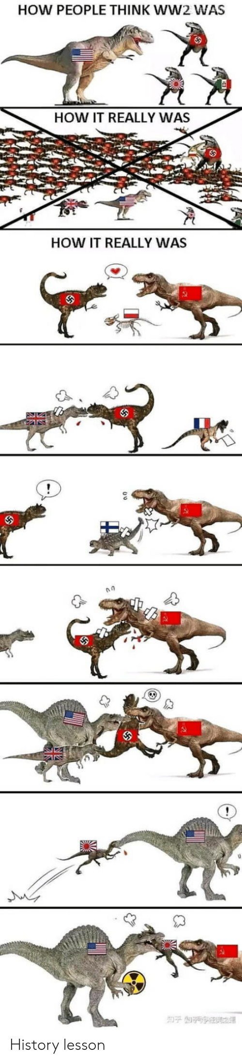 ww2: HOW PEOPLE THINK WW2 WAS  HOW IT REALLY WAS  HOW IT REALLY WAS  NZ History lesson