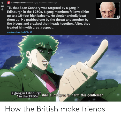 Make Friends: How the British make friends