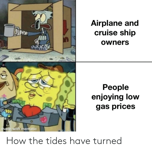 Turned: How the tides have turned