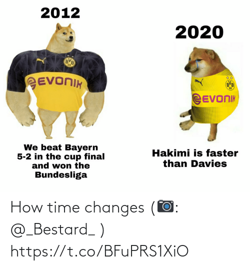 changes: How time changes  (📷: @_Bestard_ ) https://t.co/BFuPRS1XiO