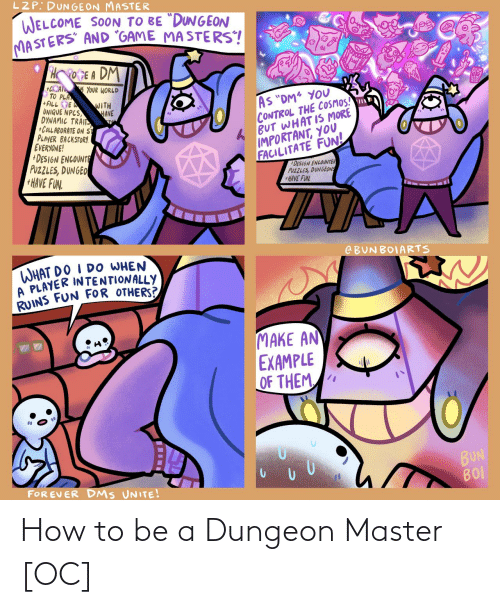 dungeon: How to be a Dungeon Master [OC]
