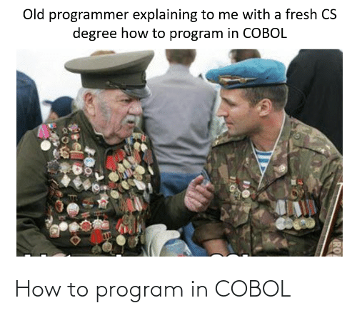 How To, How, and Cobol: How to program in COBOL
