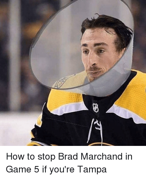 Memes, Game, and How To: How to stop Brad Marchand in Game 5 if you're Tampa