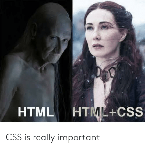 Html, Css, and Html Css: HTML HTML+CSS CSS is really important