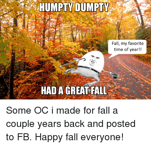 my favorite time of year