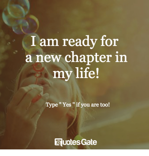 25 Best Memes About A New Chapter In My Life A New Chapter