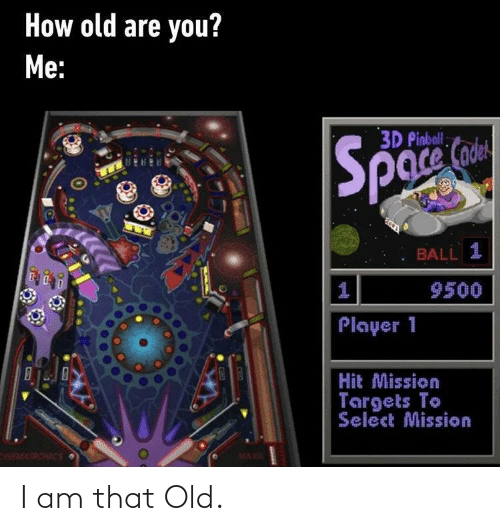 I Am: I am that Old.