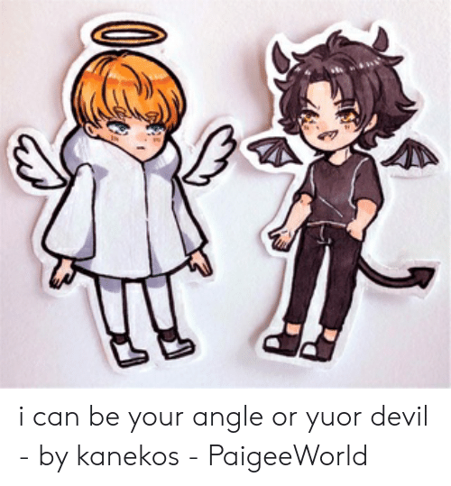 Paigeeworld: i can be your angle or yuor devil - by kanekos - PaigeeWorld