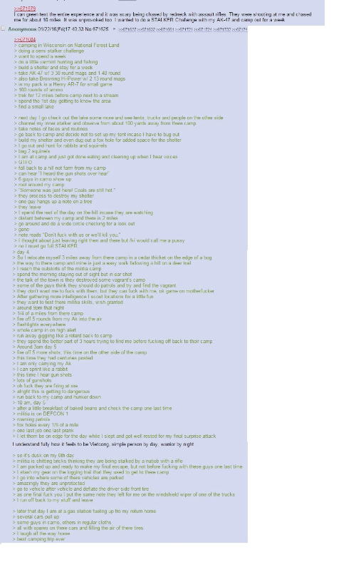 I Can Green Text The Entire Experience And It Was Scary Being