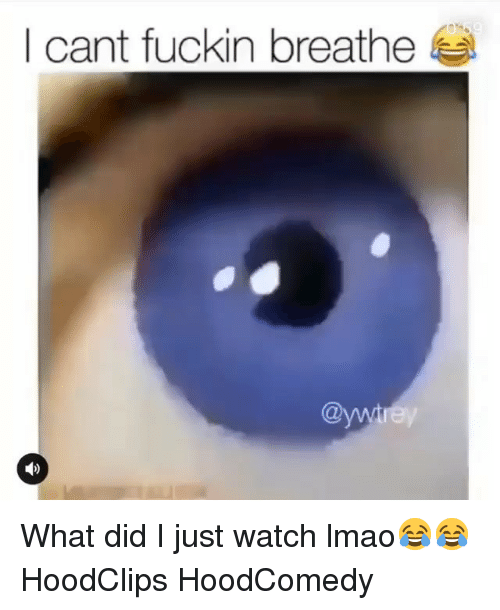 Hoodcomedy: I cant fuckin breathe  @w What did I just watch lmao😂😂 HoodClips HoodComedy