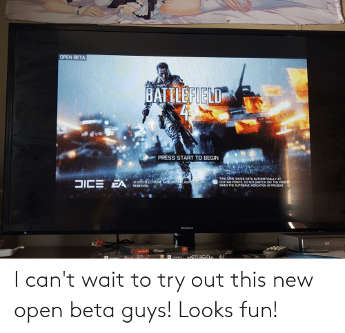 open: I can't wait to try out this new open beta guys! Looks fun!