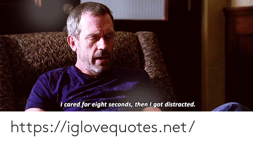Got, Net, and For: I cared for eight seconds, then I got distracted. https://iglovequotes.net/
