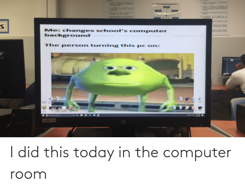 in-the-computer: I did this today in the computer room