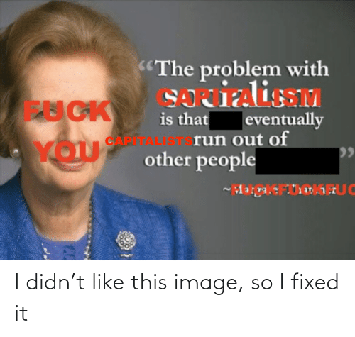 Fixed It: I didn't like this image, so I fixed it