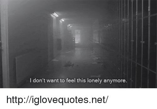Http, Net, and Href: I don't want to feel this lonely anymore. http://iglovequotes.net/