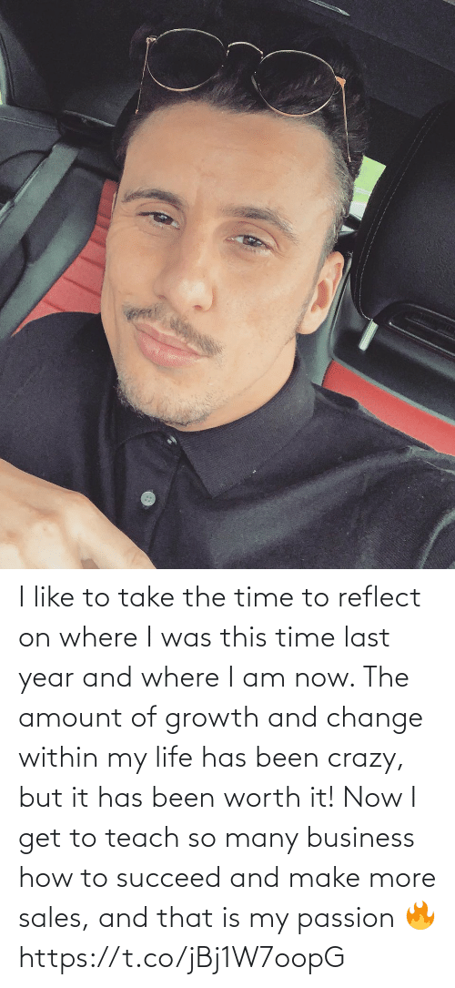 sales: I like to take the time to reflect on where I was this time last year and where I am now. The amount of growth and change within my life has been crazy, but it has been worth it!   Now I get to teach so many business how to succeed and make more sales, and that is my passion 🔥 https://t.co/jBj1W7oopG
