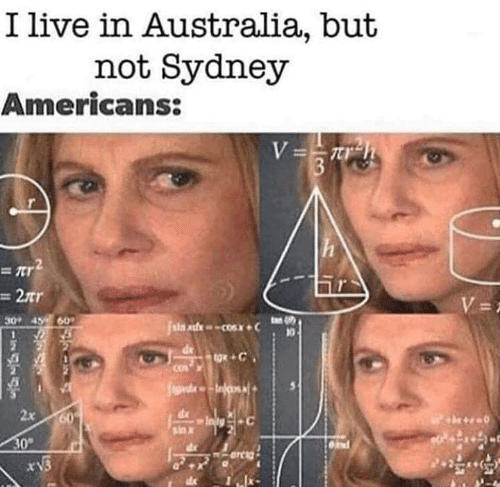sydney: I live in Australia, but  not Sydney  Americans:  2  2tr  0 45 60  2x 60  sa x  0°  rv3