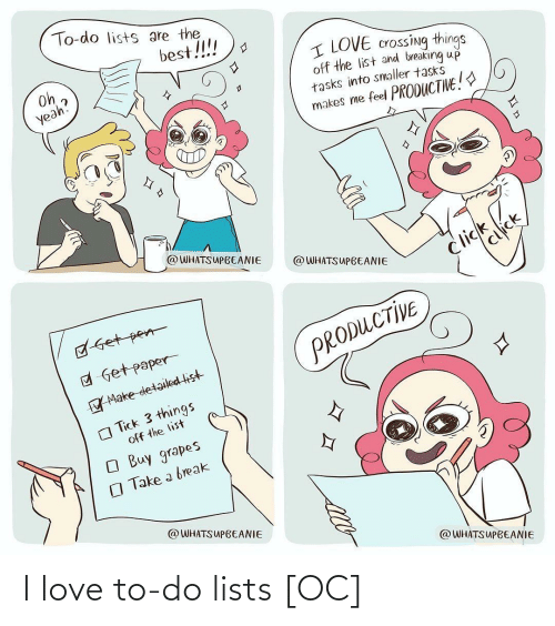 Love To: I love to-do lists [OC]
