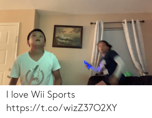 Love, Sports, and Wii: I love Wii Sports https://t.co/wizZ37O2XY