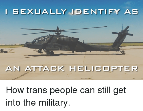 I sexually identify as an attack