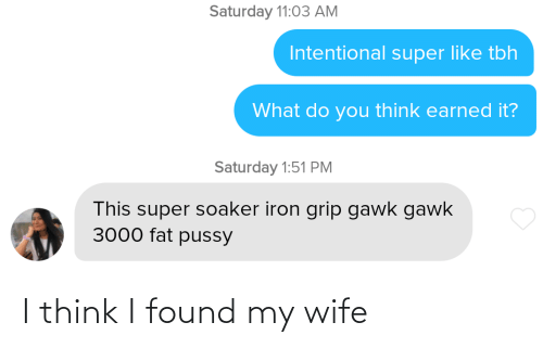 Think I: I think I found my wife