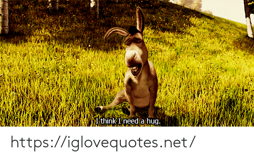 Need A Hug: I think I need a hug. https://iglovequotes.net/