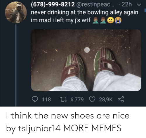 more: I think the new shoes are nice by tsljunior14 MORE MEMES