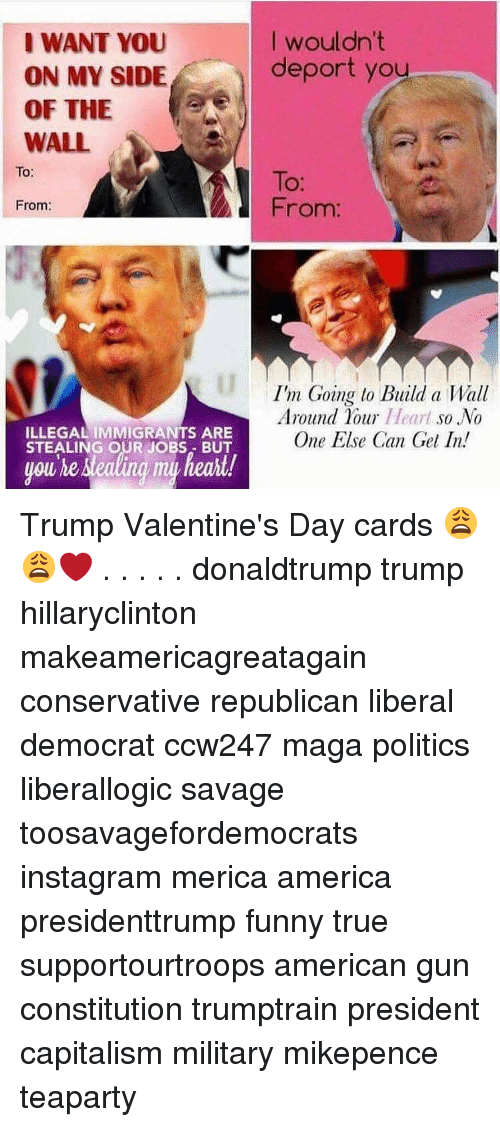 25 Best Memes About Trump Valentines Day Card Trump