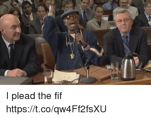 Funny, I Plead the Fif, and Plead: I,WT/ I plead the fif https://t.co/qw4Ff2fsXU