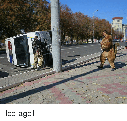 Ice Age, Ice, and Age: Ice age!