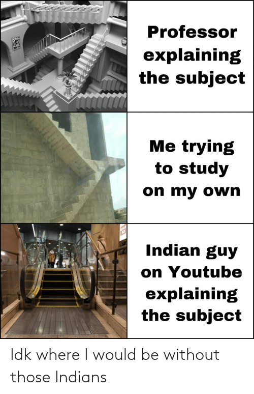 indians: Idk where I would be without those Indians