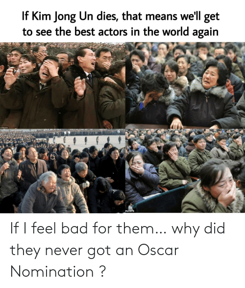 oscar: If I feel bad for them… why did they never got an Oscar Nomination ?