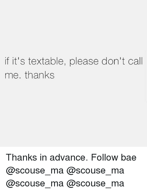 Bae, Memes, and 🤖: if it's textable, please don't call  me. thanks Thanks in advance. Follow bae @scouse_ma @scouse_ma @scouse_ma @scouse_ma
