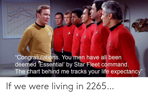 Living: If we were living in 2265…