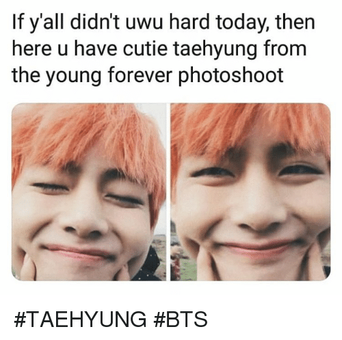 Forever, Today, and Bts: If y'all didn't uwu hard today, then  here u have cutie taehyung from  the young forever photoshoot #TAEHYUNG #BTS