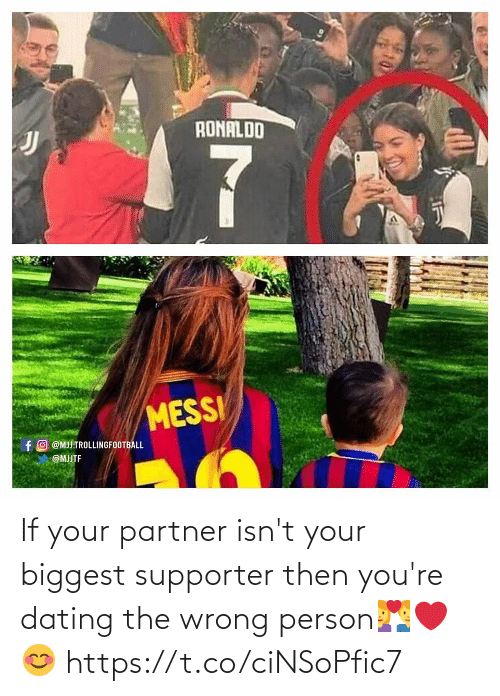Partner: If your partner isn't your biggest supporter then you're dating the wrong person💑❤️😊 https://t.co/ciNSoPfic7