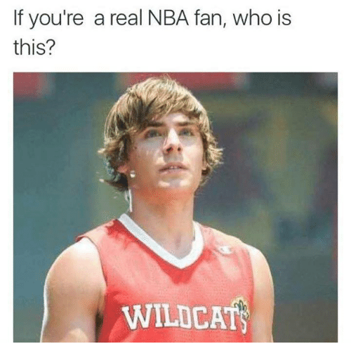 Memes, Nba, and 🤖: If you're a real NBA fan, who is  this?  WILDCATS