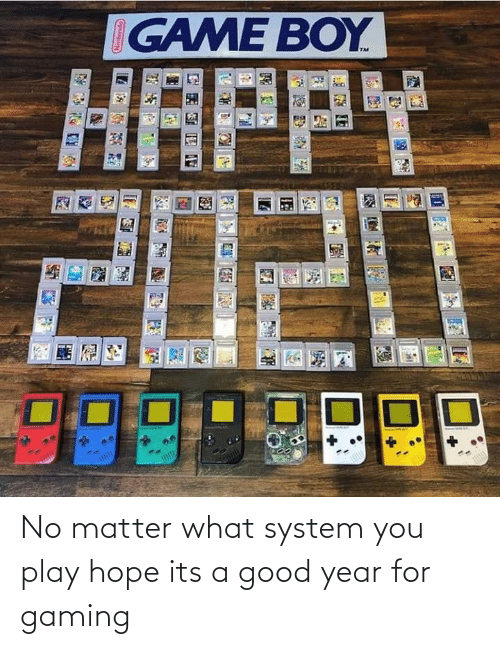 Happy: IGAME BOY  HAPPY  2020 No matter what system you play hope its a good year for gaming