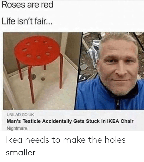 make: Ikea needs to make the holes smaller
