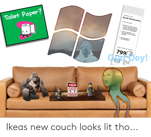 Couch: Ikeas new couch looks lit tho...