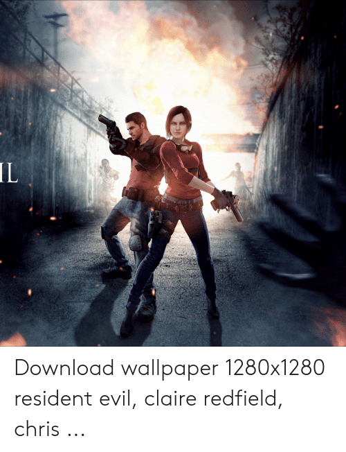Il Download Wallpaper 1280x1280 Resident Evil Claire