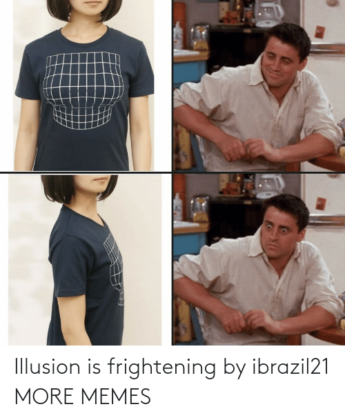 illusion: Illusion is frightening by ibrazil21 MORE MEMES