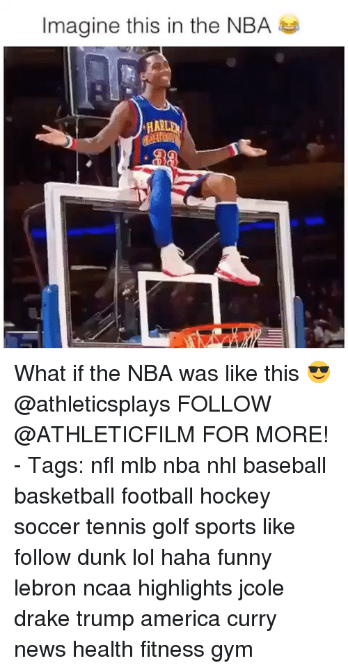 America, Baseball, and Basketball: Imagine this in the NBA What if the NBA was like this 😎 @athleticsplays FOLLOW @ATHLETICFILM FOR MORE! - Tags: nfl mlb nba nhl baseball basketball football hockey soccer tennis golf sports like follow dunk lol haha funny lebron ncaa highlights jcole drake trump america curry news health fitness gym