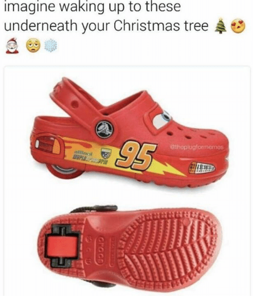 Christmas, Christmas Tree, and Tree: imagine waking up to thesee  underneath your Christmas tree  95  atheplugformemes